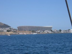 World Cup Soccer Stadium - Cape Town (2010) - photo taken on my trip earlier this year